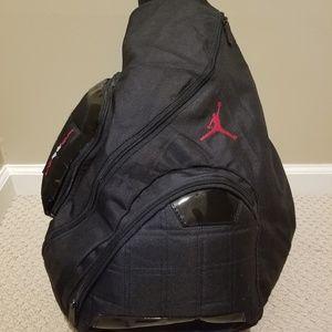 Jordan Jumpman 23 Round Shell Style Backpack. M 5b32ca06194dad91b710409d.  Other Bags you may like. Air Jordan Sling Backpack f78df20b81